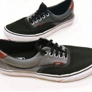 Vans ▪️Era 59 Black/Grey Skate Shoes - SZ 9